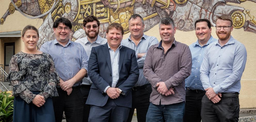 Focus Technology has acquired the IT division of Deloitte Dunedin. Pictured are Dunedin staff ...
