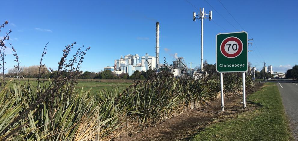 Fonterra's Clandeboye plant. Photos: Chris Tobin