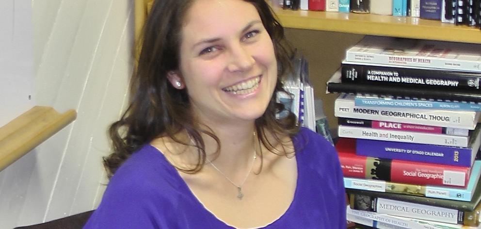 Beats Rural Study researcher Dr Christina Ergler. Photo: Supplied