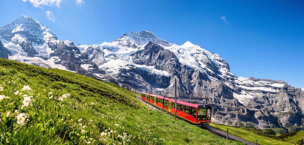The Jungfrau Railway.