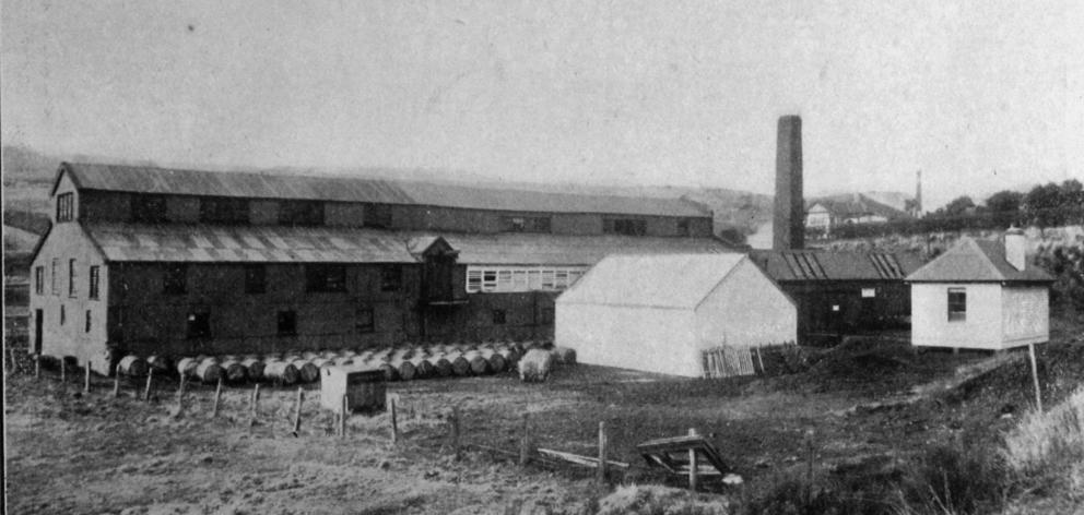 Bayley's tannery at Green Island. - Otago Witness, 7.10.1919.