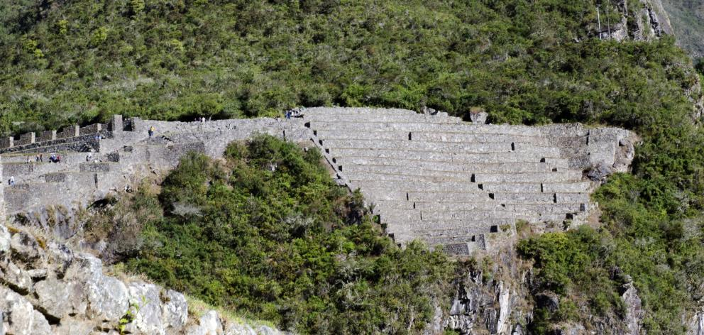 The Incas constructed extensive terracing to stablise the steep hillsides and allow the...