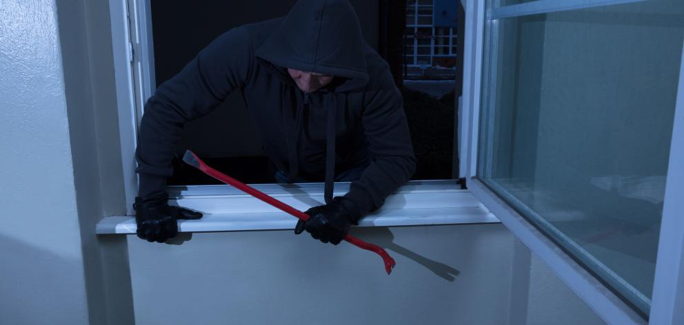 Police advice people to keep doors and windows secure and close your curtains at night. Photo: Getty Images