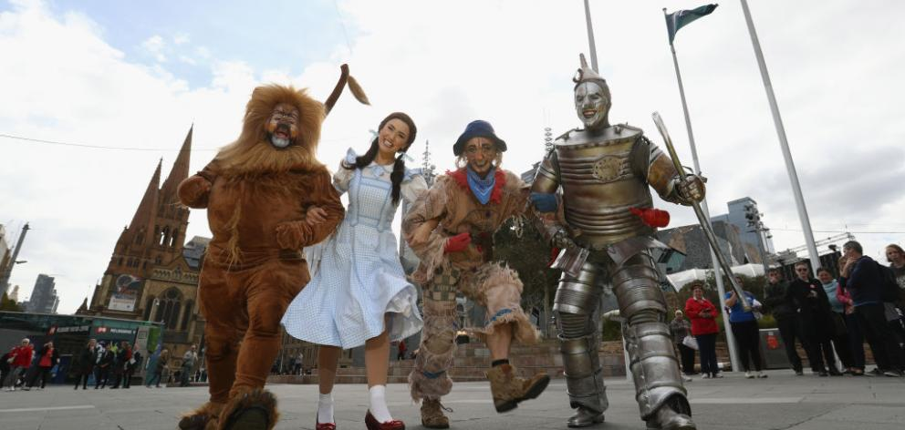 The Wizard of Oz was satire about conflicts over money and who controls it in an economy. Photo: Getty Images
