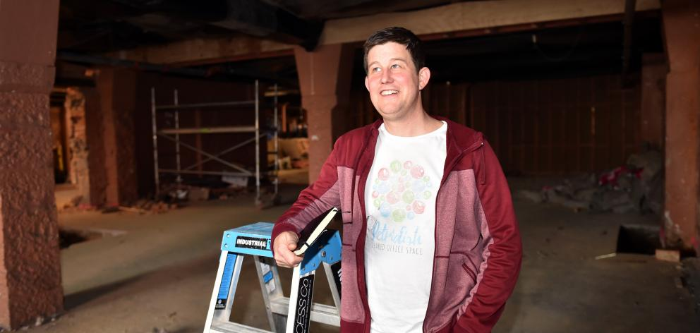 Petridish co-founder Jason Lindsey is excited about the company's new Makerspace initiative. Photo: Gregor Richardson