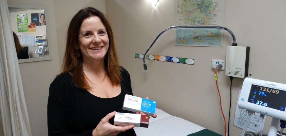 University of Otago Student Health practice nurse Melanie Philip says parents should consider vaccinating their teenagers against meningococcal disease before the 2020 university year. PHOTO: BRENDA HARWOOD