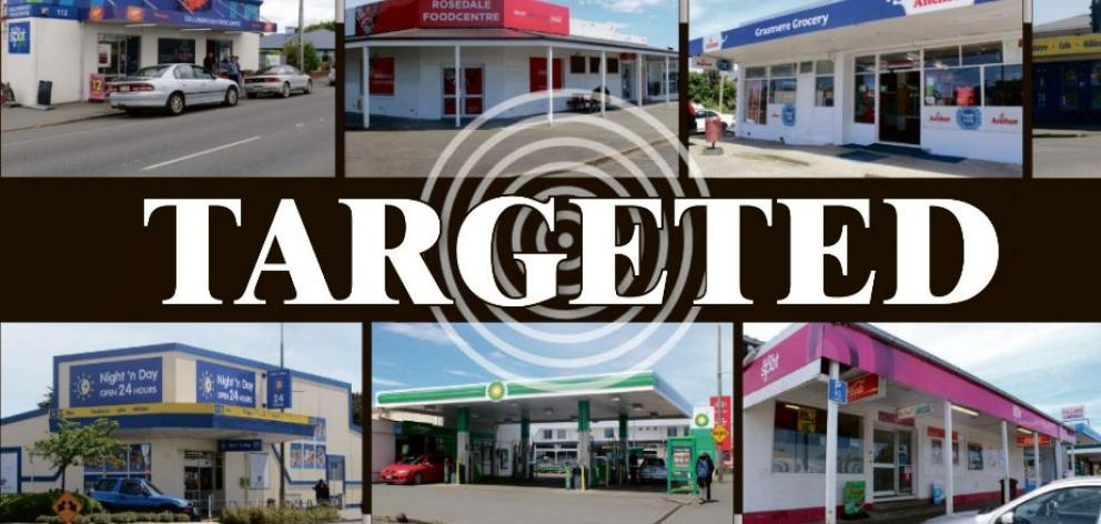 Invercargill dairies have ramped up security following a string of robberies.
