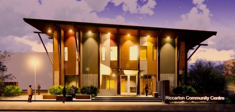 The new Riccarton Community Centre.