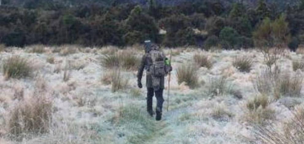 Hans Christian Tornmarck went hunting by himself on May 12. Photo: Police