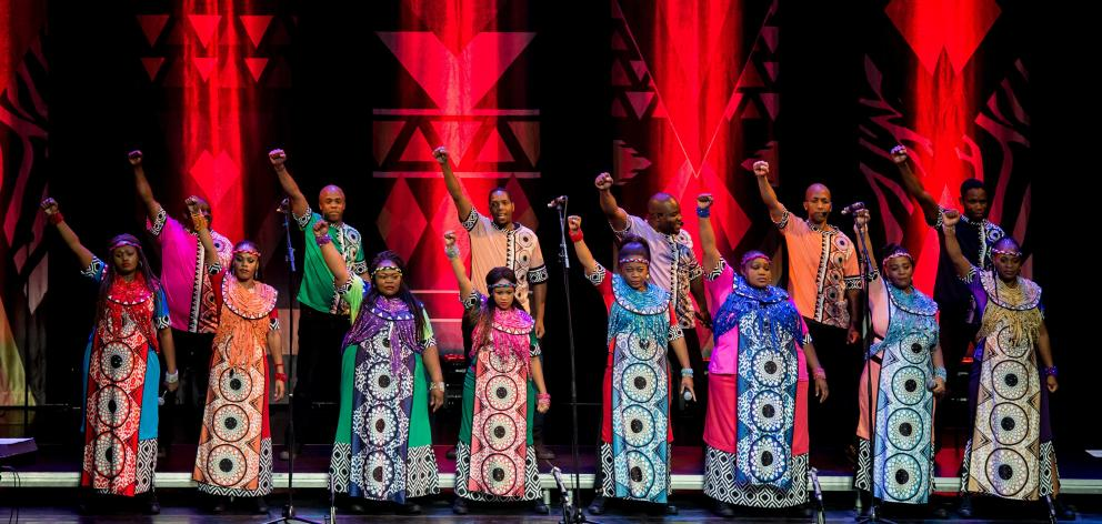 One of the major international acts to hit Dunedin this year is the Soweto Gospel Choir's Freedom tour in March at the Regent Theatre. Photo: Di Nozzo Lorenzo