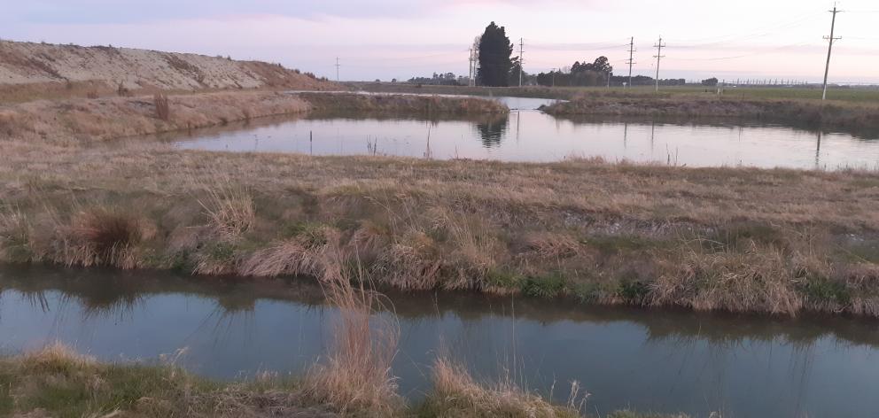 The original managed aquifer recharge pilot site at Lagmhor.