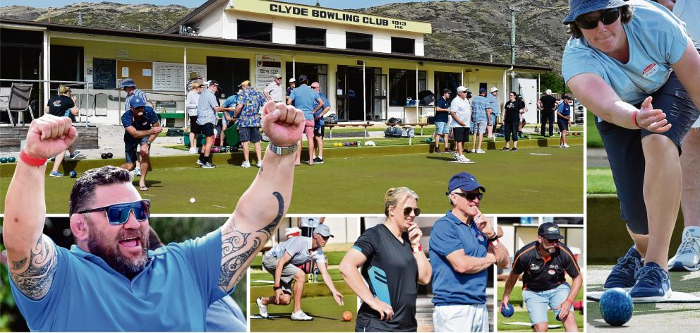 The Sporting Stars bowls tournament in Clyde yesterday shows former All Black Kees Meeuws has...