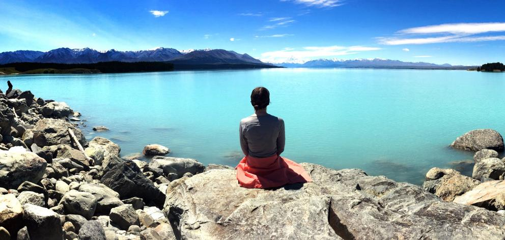 Lake Pukaki shines on a good day looking towards Mt Cook. Photo: Peter McIntosh