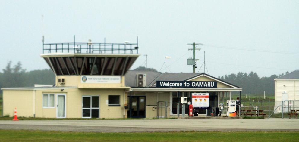 Increased demand at Oamaru Airport has pushed forward Waitaki District Council infrastructure plans. Photo: Hamish MacLean