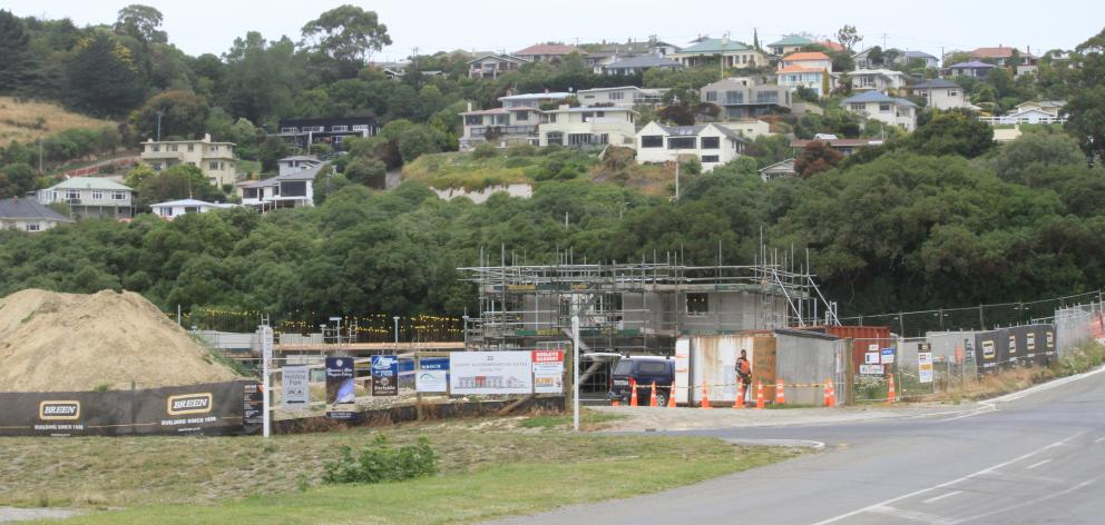 The developers of new luxury accommodation at Oamaru Harbour are silent on progress. Photo: Hamish MacLean