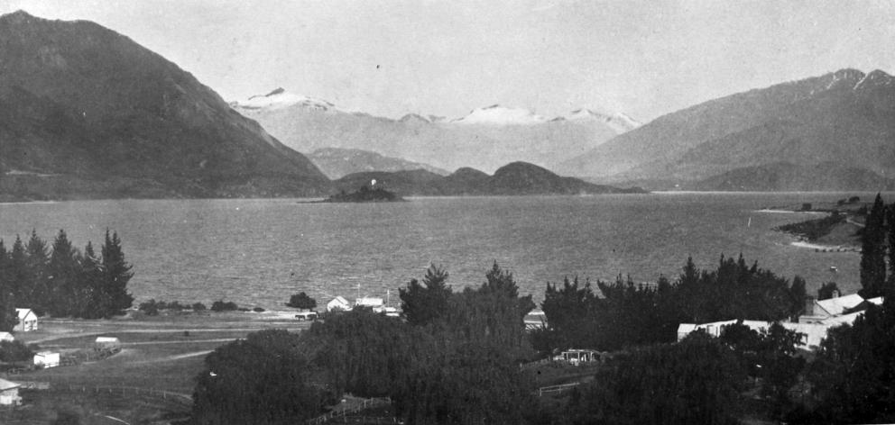 A  view of Pembroke on the shores of beautiful Lake Wanaka, Otago Central. — Otago Witness, 13.1...