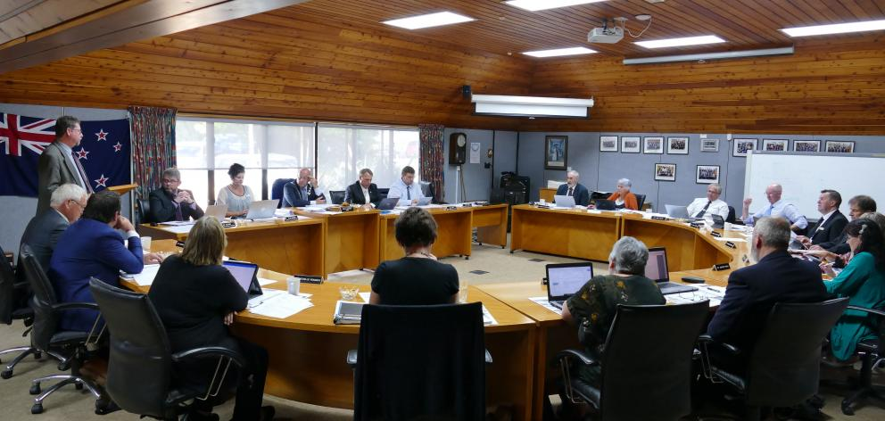 The Clutha District Council votes to become a Local Government Funding Agency guaranteeing...