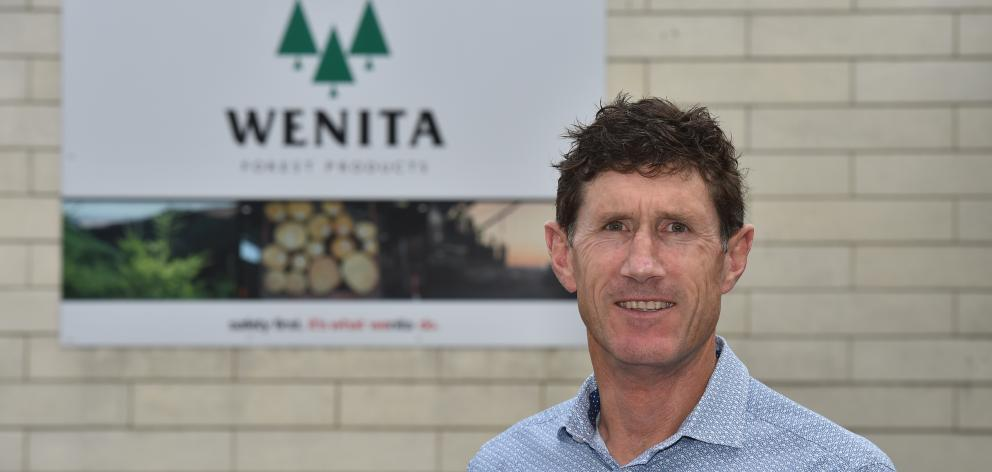 Wenita Forest Products chief executive David Cormack said his company was managing the situation...