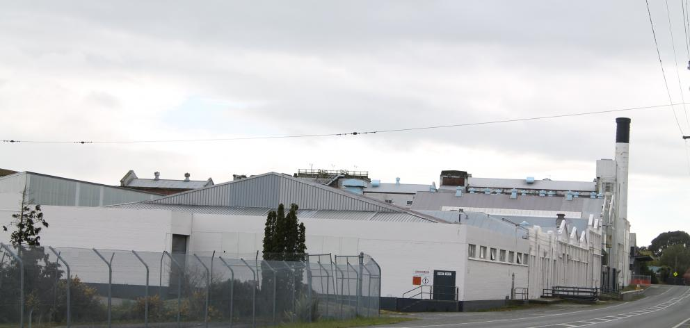 The former Carter Holt Harvey paper mill, located on the banks of the Mataura River, is where ouvea premix is stored. Photo: ODT files