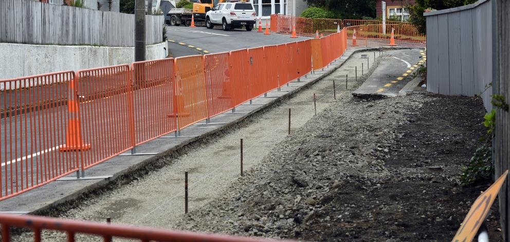 Fulton Hogan has been awarded a major roading contract by the Dunedin City Council. PHOTO: PETER...