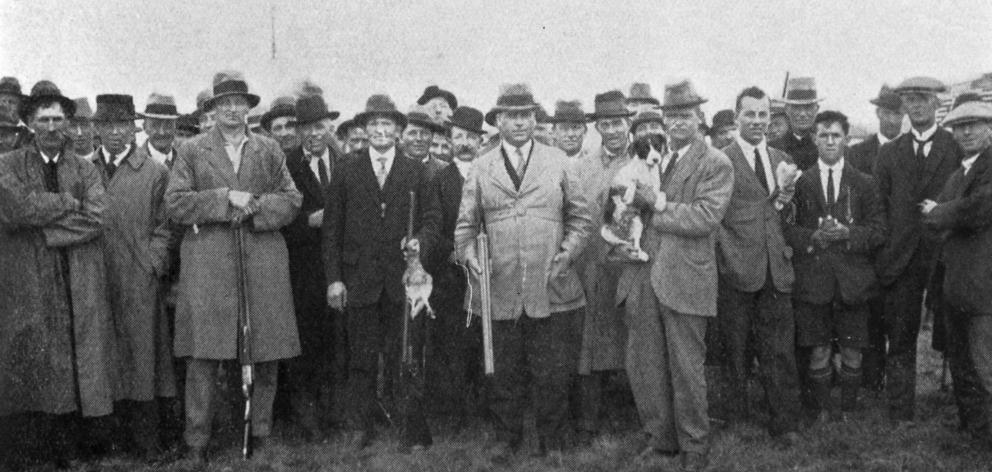 Messrs C. Capell (Balclutha), D. Sinclair (Waitati), W. Chisnell (Christchurch) and F. Truscott ...