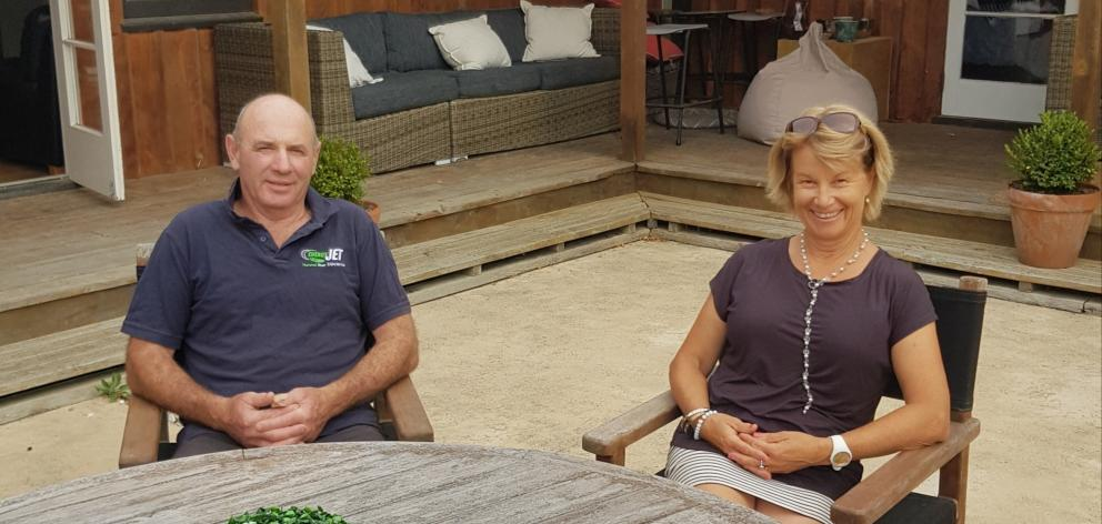 Mike and Elspeth Loughnan are the co-presidents of this year's Cheviot A&P Show to be held on...