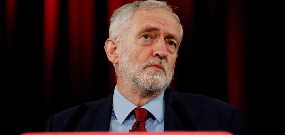 Labour Party leader Jeremy Corbyn .Photo: Reuters