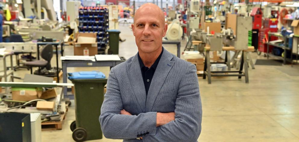 Scott Technology chief executive John Kippenberger. PHOTO: LINDA ROBERTSON