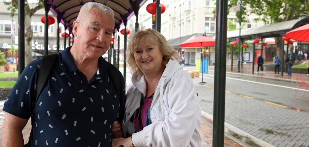 Australians Ann and Ken London said their bus driver did not know where to take them when they...