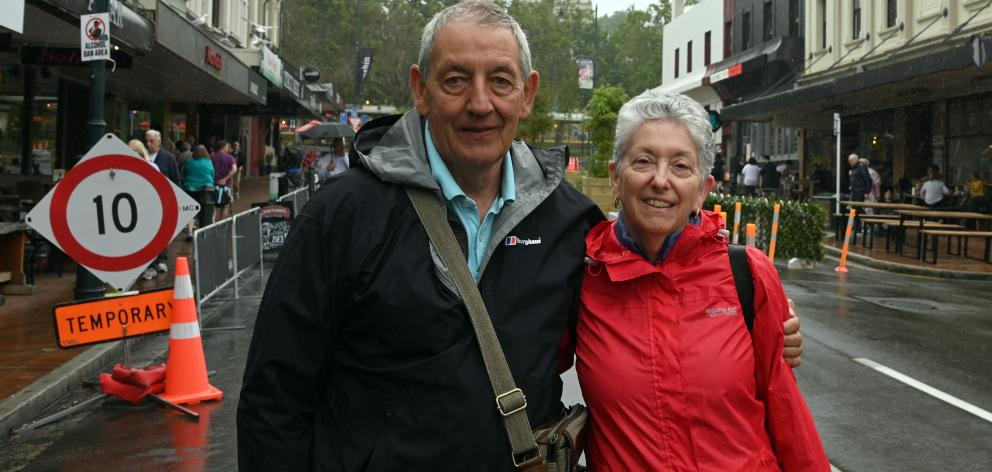 John and Annette Richardson said closing the Octagon was the right thing to do if the council...