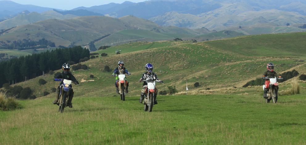 The Eastern Hills Trail Ride is on this Saturday, a major fundraiser for the Waikouaiti School Friends of the School committee. Photo: Ross Curtis