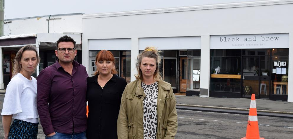 Frustrated by a lack of consultation on roadworks outside businesses in Prince Albert Rd, St...