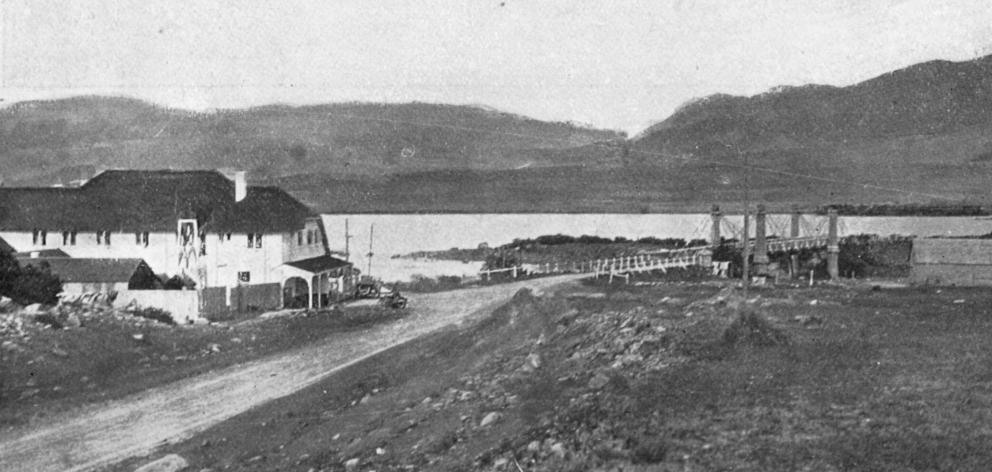 The Tekapo Hotel at Lake Tekapo, South Canterbury. — Otago Witness, 10.2.1920.
