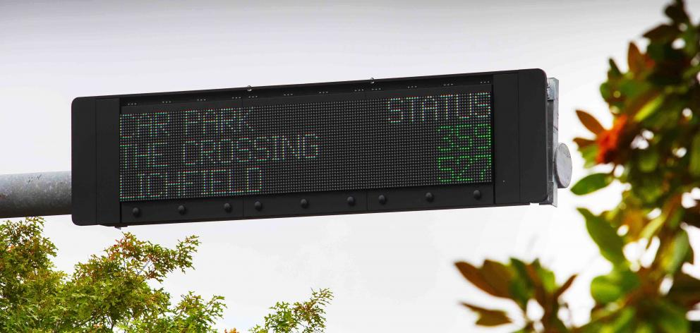The new signs are on Barbadoes St, Madras St, Durham St North and Tuam St. Photo: Newsline/CCC
