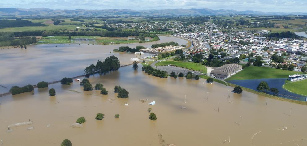 Parts of Balclutha sit under water after heavy rain at the start of February. The cost to repair...