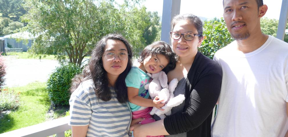 In August, Maia Matubis (left, 21) will be separated from her Balclutha family — mother and...