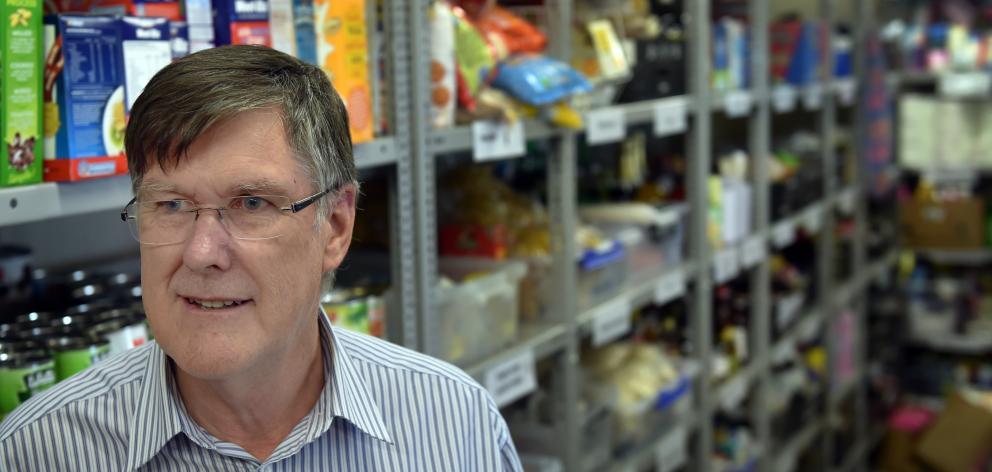 Salvation Army Dunedin community ministries manager David McKenzie says housing is Dunedin's...