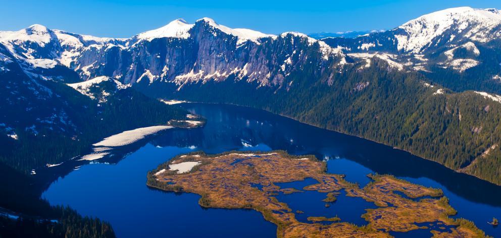 Misty Fiords National Monument, near Ketchikan, southeast Alaska.