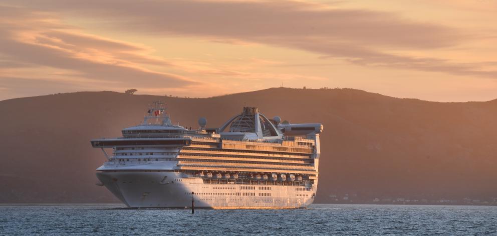 The Golden Princess cruise ship. Photo: ODT file