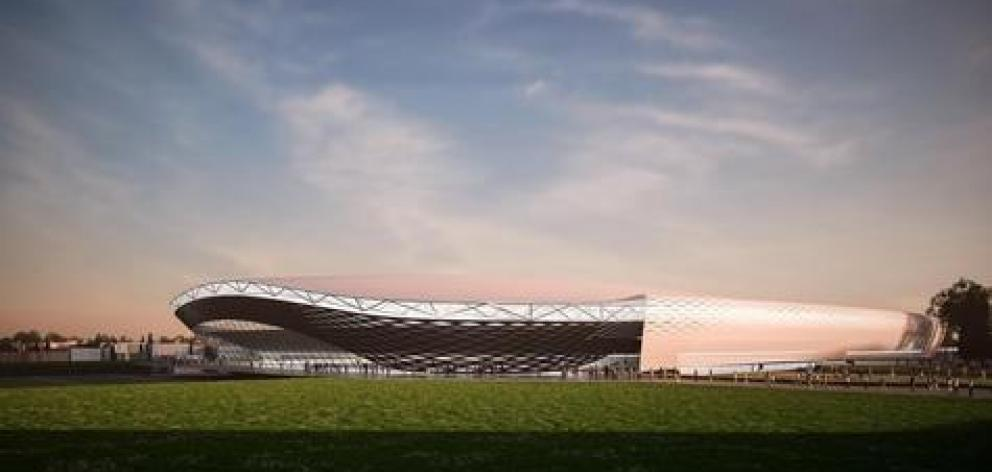 An artist's impression of the planned multi-use arena. Image: Supplied