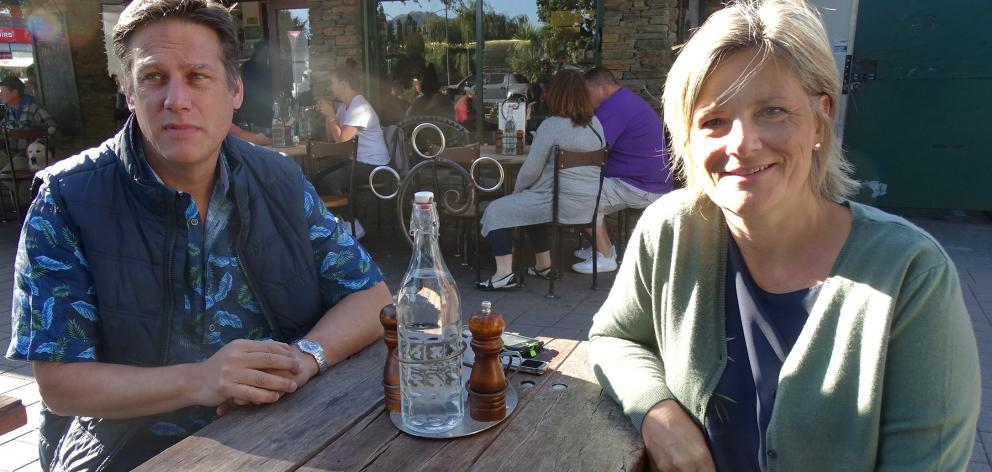 Jay Simon and Julia Larkin have set up a Facebook page for messages from people in Wanaka who...