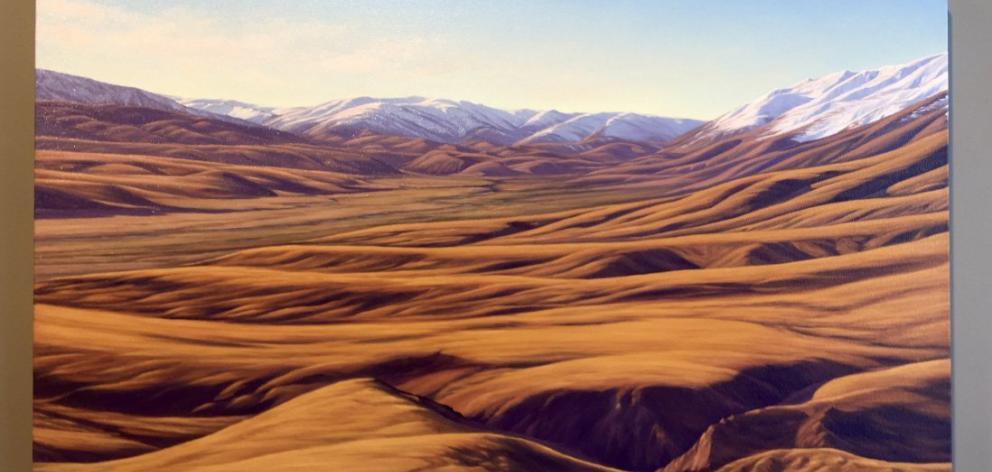 Upper Manuherikia Valley, by Sheena Lassen