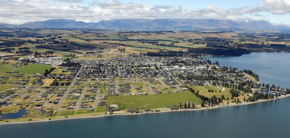 The 240-lot Lakes Estate development on the Te Anau delta has seen a large population increase in...