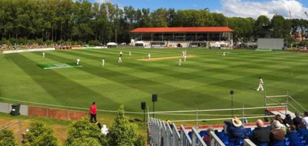 The University Oval will play host to the Women's Cricket World Cup.