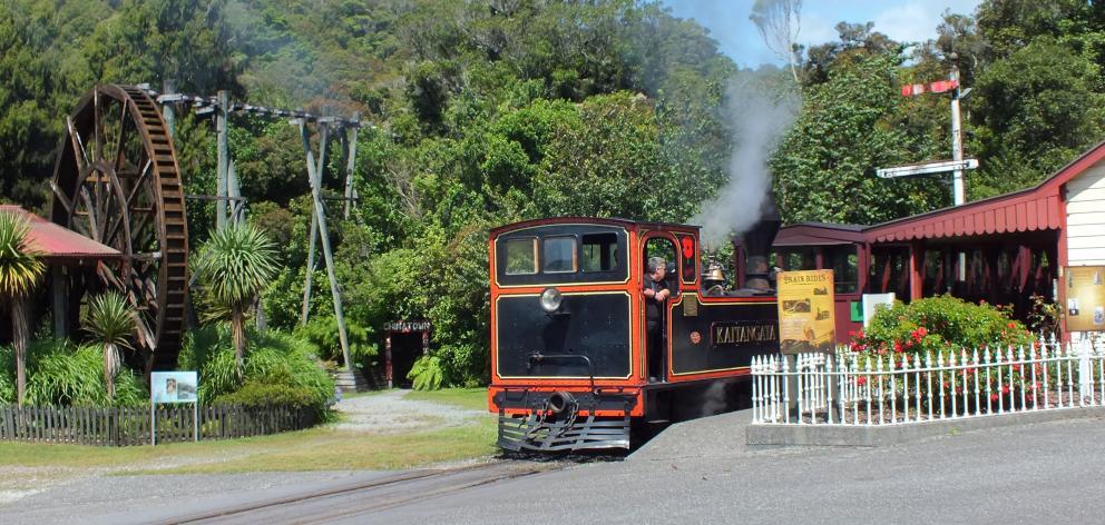 Kaitangata was used to haul coal in South Otago until 1969.