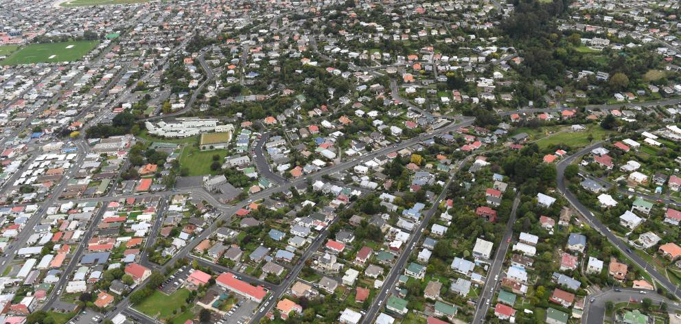Capital values in Lower Mornington and Caversham (pictured) were up by 54%. Photo: Stephen Jaquiery
