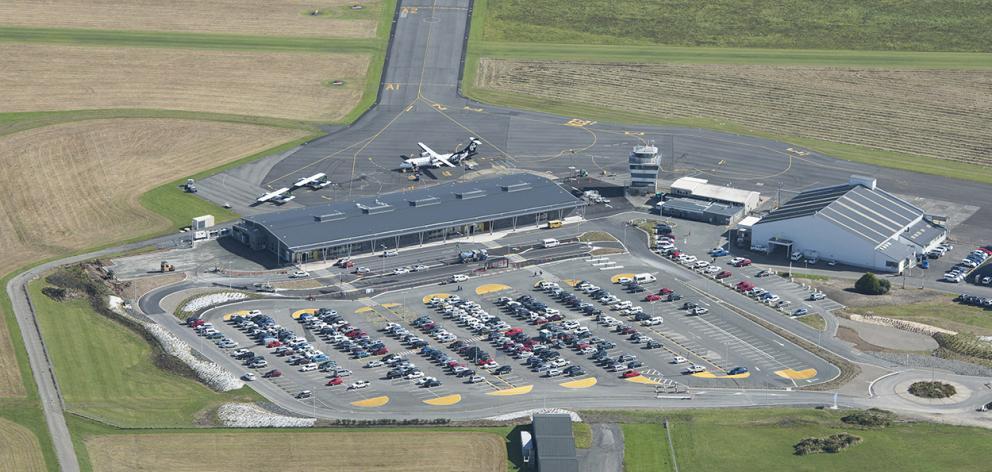 Invercargill Airport. Photo: Southland Express