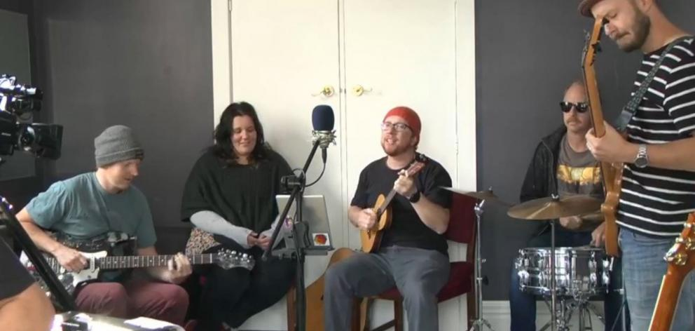 Dunedin acts The Mentalist Collective (above) and Moaz Stream (below) have been playing...