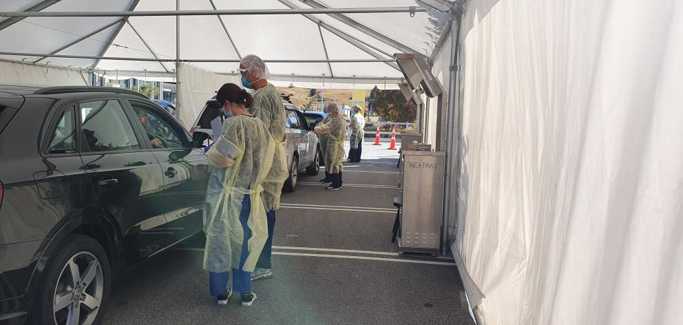 GPs, nurses, pharmacists and administrators from across the region wore protective equipment to...