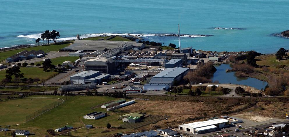 The Smithfield freezing works in Timaru is desperate for workers to start the new killing season. Photo: Stephen Jaquiery